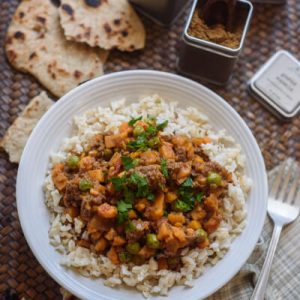 Ground Beef Sweet Potato Curry
