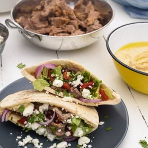 Weeknight Beef Gyro Recipe
