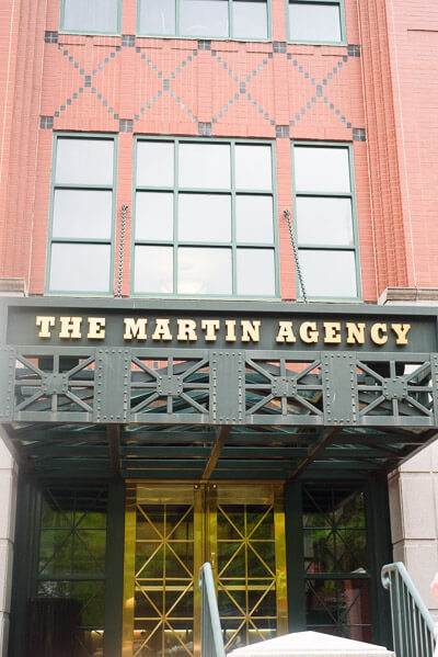 the martin agency outside