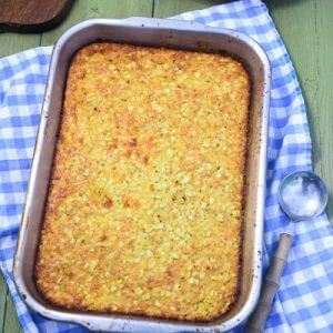 Corn Pudding Recipe (From Scratch with Fresh Corn)