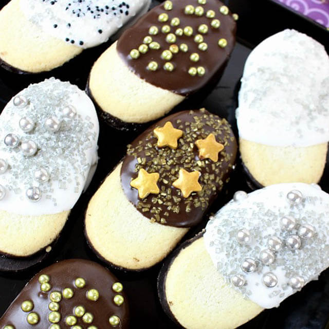 New Year's Eve Milano Cookies, 101 New Years food ideas