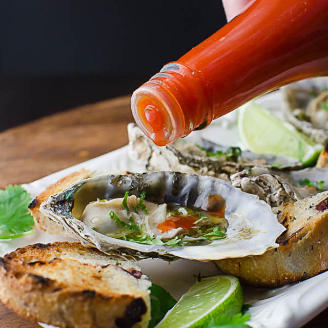 Citrusy Grilled Oysters, 101 New Years Food Ideas