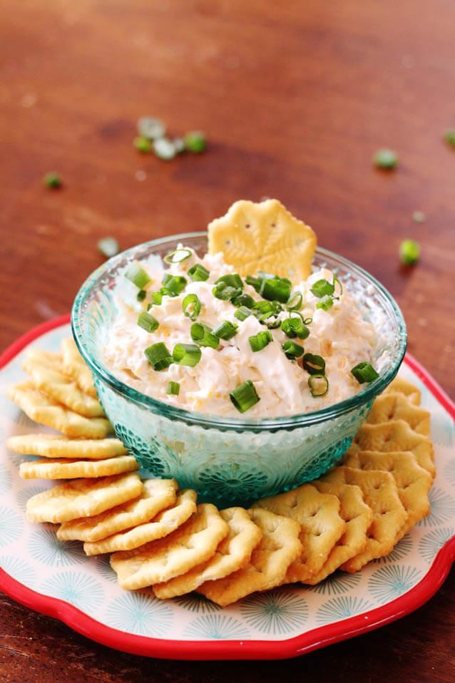 Horseradish Bacon Dip, 101 New Years Food Ideas