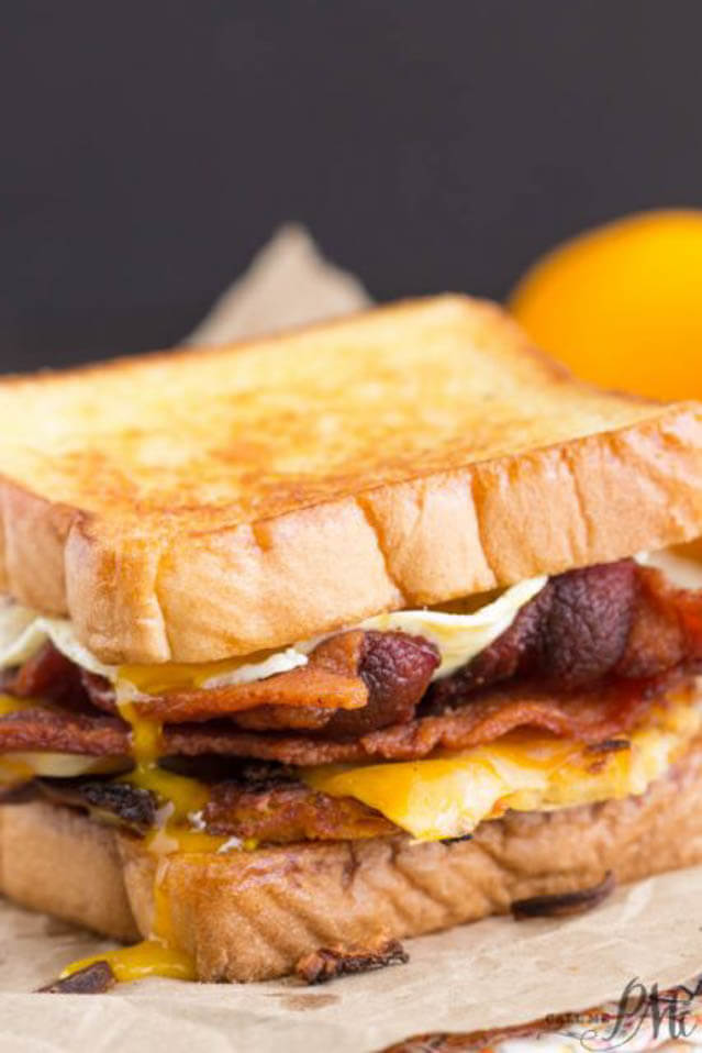 boy scout campout bacon hash brown sandwich,101 Stress Free Camping Food Ideas