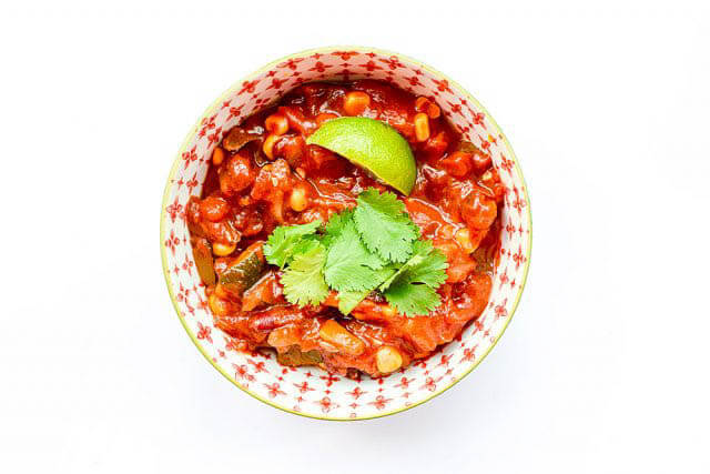 one pot chili, 101 Stress Free Camping Food Ideas,