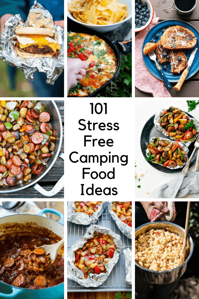 101 stress free camping food ideas