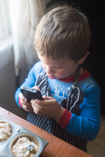 noah-taking-pictures-of-blueberry-muffins