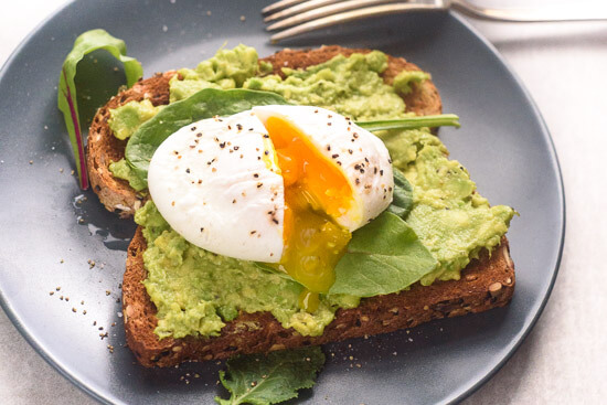 poached egg and avocado toast the adventure bite