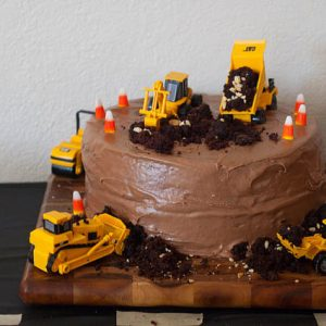 Noah's Construction Birthday Party