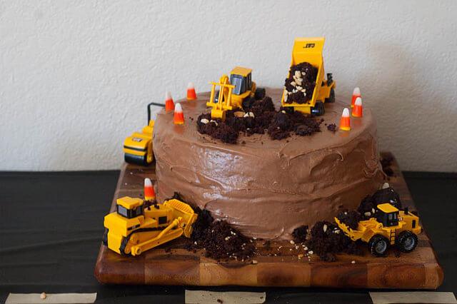 Noah S Construction Birthday Party The Adventure Bite