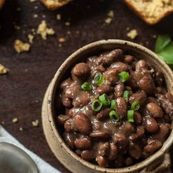 Slow Cooker Ham And Beans Recipe With No Soak Option The Adventure Bite