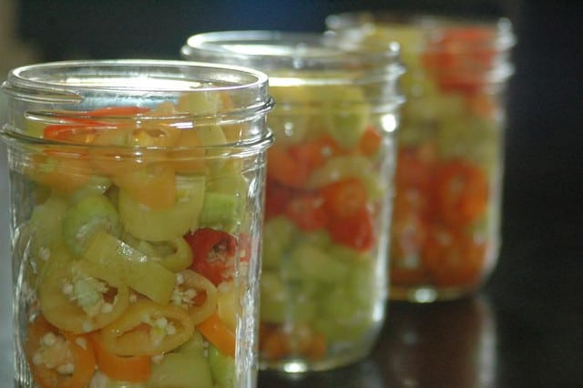 pickled banana peppers