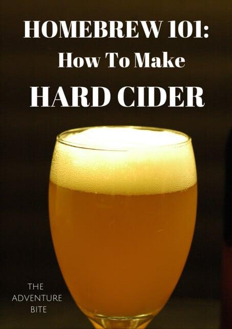 homebrew 101 how to make hard cider