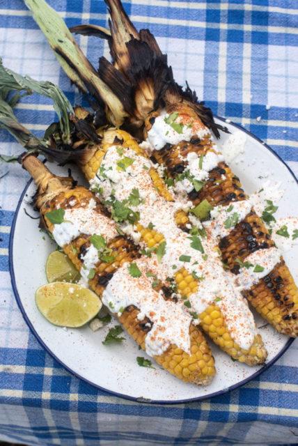 camping Mexican Corn recipe