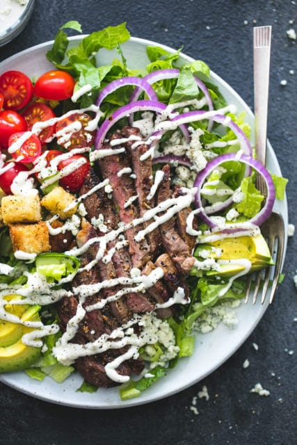 Black n Blue Grilled Steak Salad
