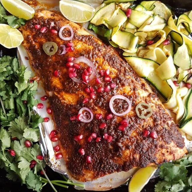Brown Sugar Cajun Butter Salmon Recipe