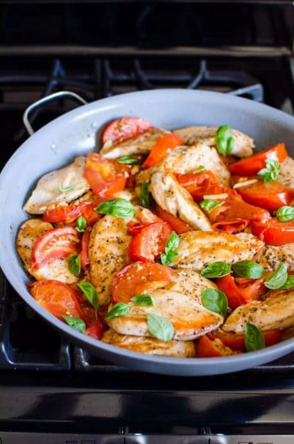 Chicken Breast with Tomatoes Recipe