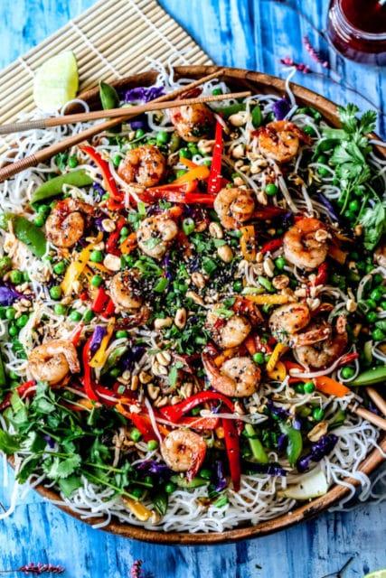 Sweet and Spicy Shrimp Pad Thai Recipe