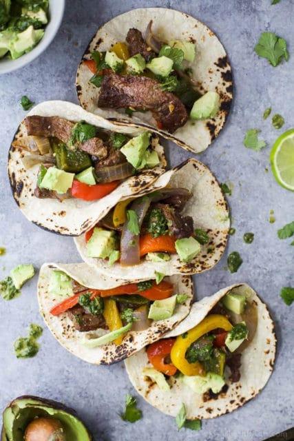 Sheet Pan Steak Fajitas Recipe