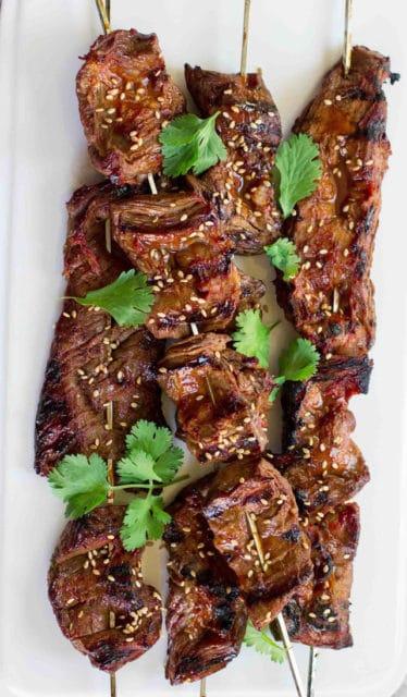 Korean Beef Skewers Recipe