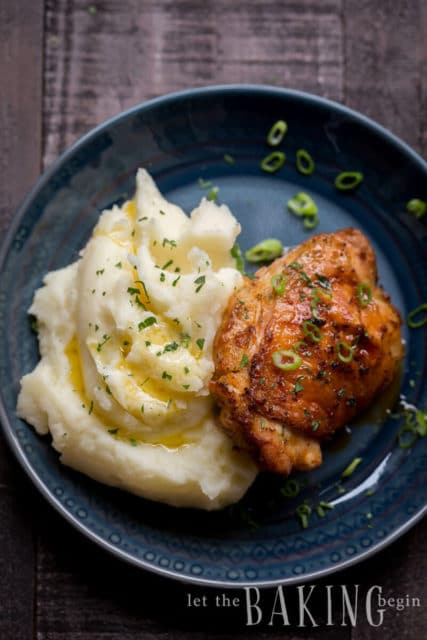 Fluffy Instant Pot Mashed Potatoes