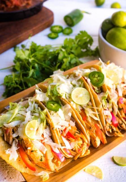 Instant Pot Chicken Tacos Recipe