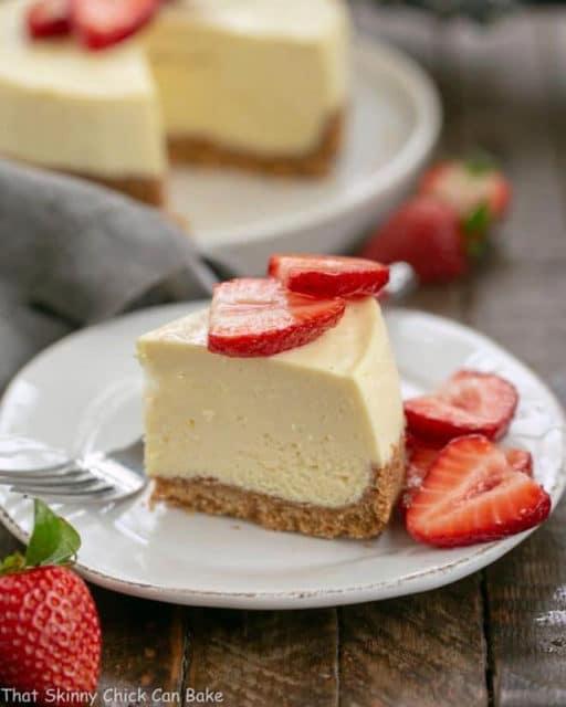 Vanilla Bean Instant Pot Cheesecake