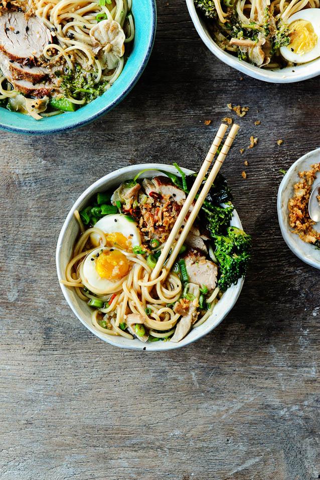 Easy Pork Ramen, 52 ramen recipes