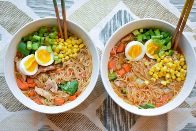 Easy Homemade Chicken Ramen. ramen soup recipes
