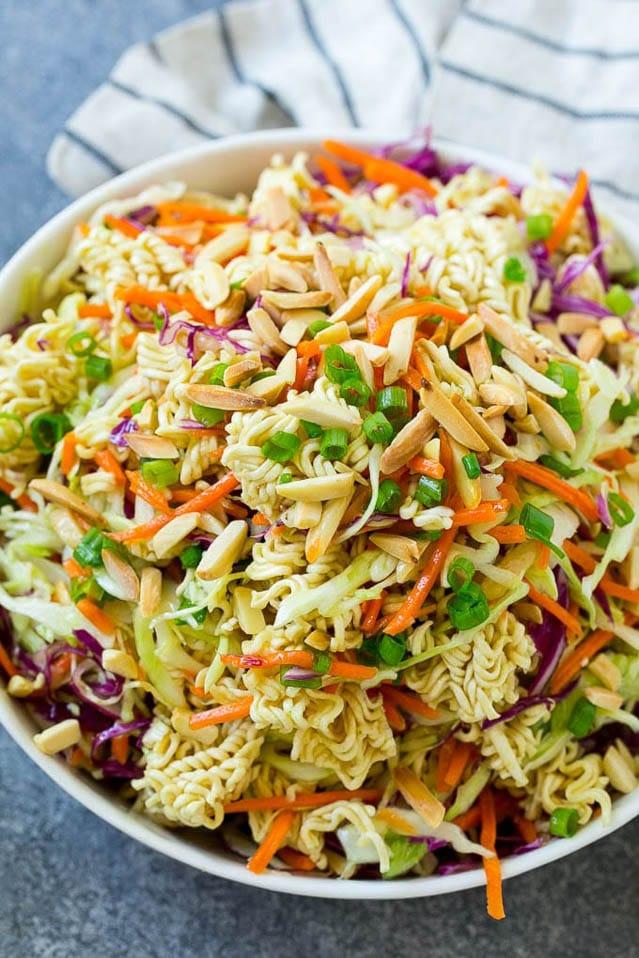 Easy Asian Ramen Salad, 52 Ramen Recipes to Keep You Warm