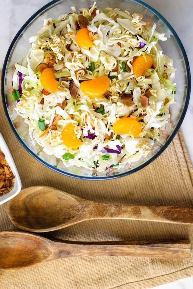 Asian Cabbage Salad Ramen Noodles, 52 Ramen Recipes to Keep You Warm
