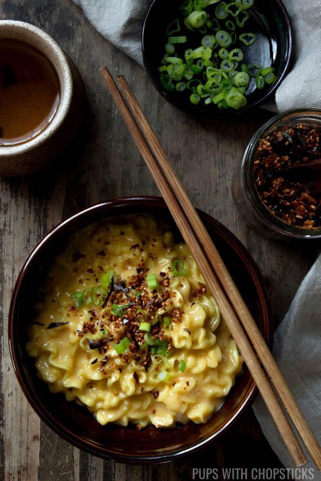 Cheese Ramen, 52 Ramen Recipes to Keep You Warm