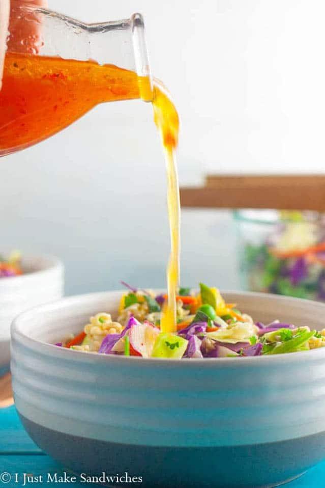 Asian Cabbage Ramen Salad, ramen soup recipe