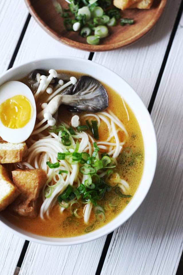 Easy Spicy Ramen with Creamy Sesame Broth, 52 Ramen Recipes to Keep You Warm