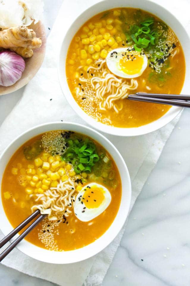 Chicken Miso Ramen, 52 Ramen Recipes to Keep You Warm