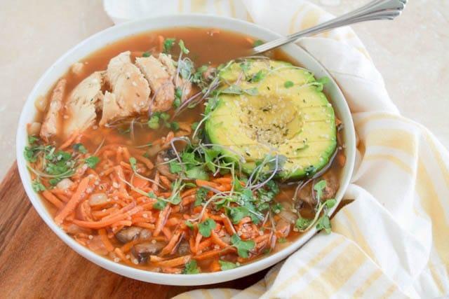 Paleo Ramen Bowl, 52 Ramen Recipes to Keep You Warm