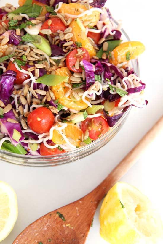 Crunchy Ramen Noodle Salad, ramen soup recipes