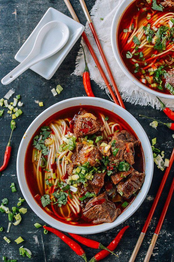 Spicy Beef Noodle Soup, ramen soup recipes