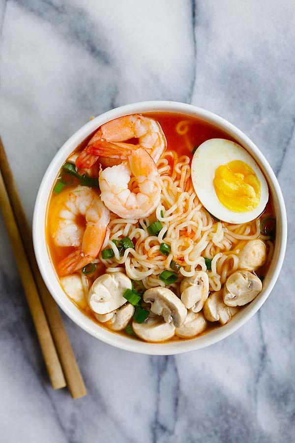Sriracha Ramen, ramen soup recipes