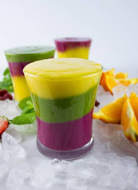 Rainbow Fruit Smoothie Recipe