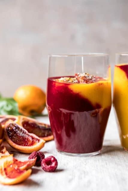 Immune Boosting Winter Citrus Smoothie