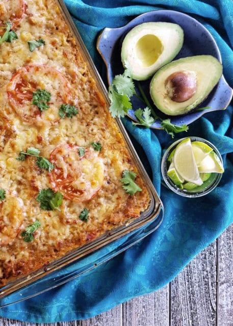 Spaghetti Squash Taco Casserole Recipe