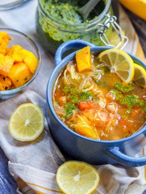 Spaghetti Squash Soup Recipe