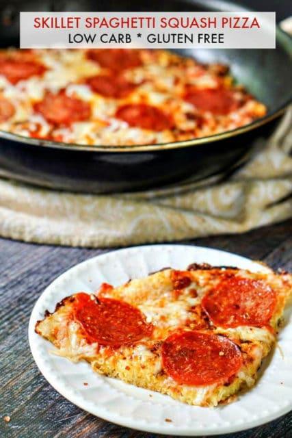 Skillet Spaghetti Squash Pizza Recipe