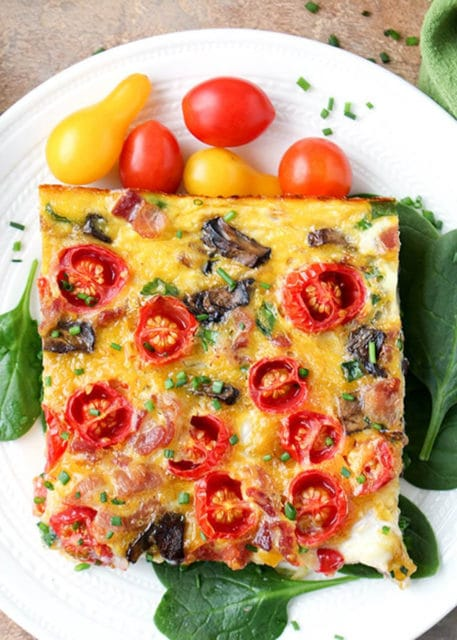 Paleo Whole 30 Spaghetti Squash Breakfast Casserole Recipe