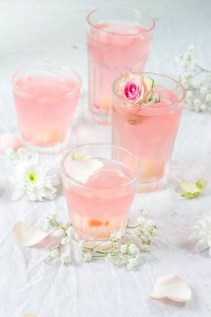 Prosecco and Rose Water