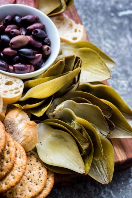 quick pickled artichoke recipe