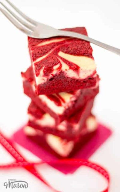 best red velvet cheesecake swirl brownies