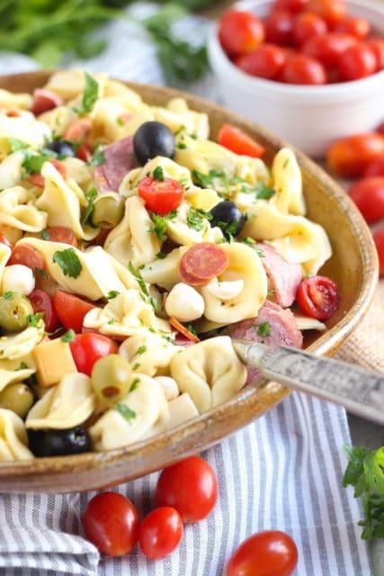 Simple Antipasto Pasta Salad