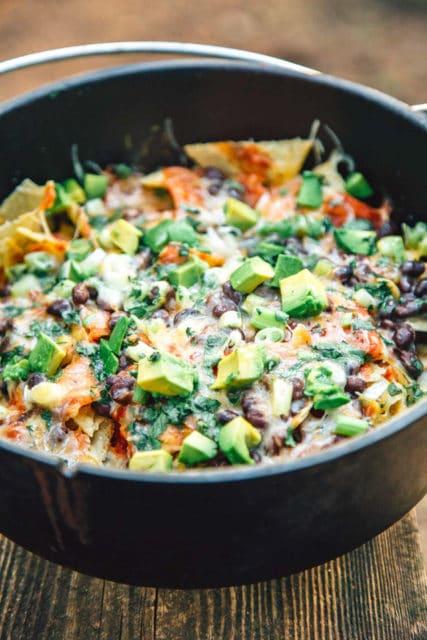 campfire nachos recipe